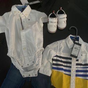 Tommy Hilfiger baby boy bundle